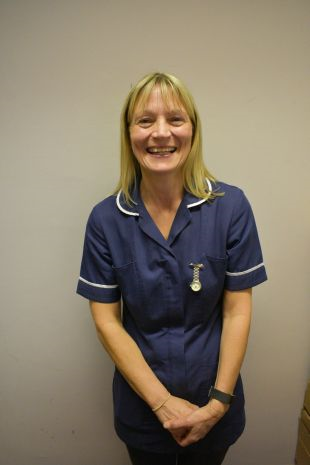 Nurse Lisa Kendrick