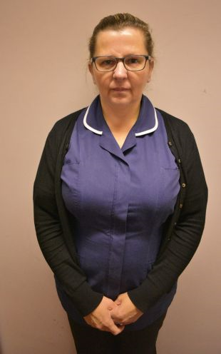 Nurse Sharon Mullally